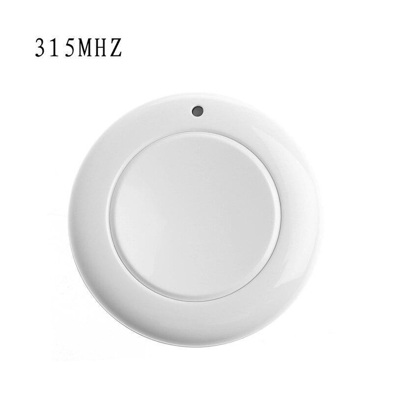 DC12V One-Key Gate RF Wireless Remote Control Garage Door Transmitter 315/433MHz