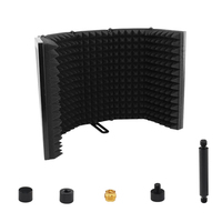 Recording Microphone Wind Screen Board Sound absorbing Cover Microphone Sound Insulation Screen Sound proof Plate
