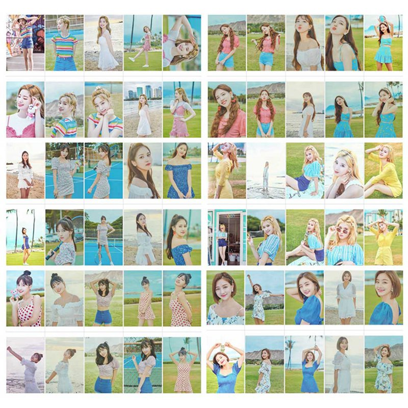 10pcs/set K-POP TWICE Album LOMO Photo Card Collective Photocard Paper Lomo Photo Card For Fans Gifts