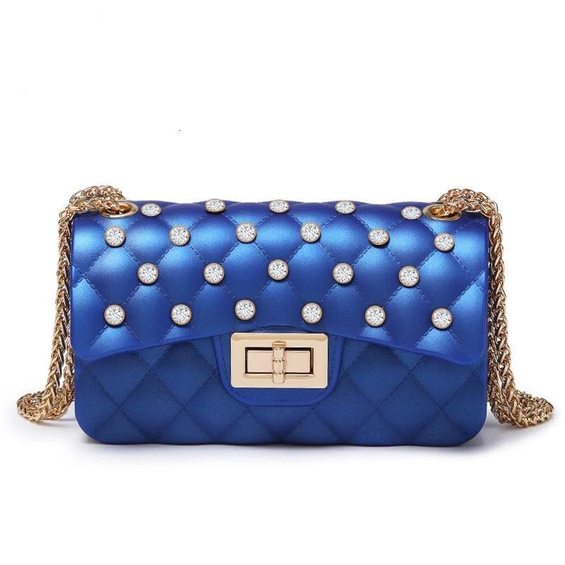 PVC Pearl Luxury Purses And Handbags Women Messenger Bags Designer Bolsa Feminina Crossbody Shoulder Bag For Female Day Clutch