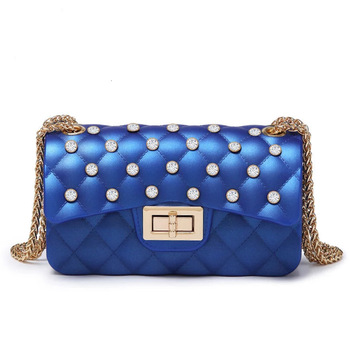 PVC Pearl Luxury Purses And Handbags Women Messenger Bags Designer Bolsa Feminina Crossbody Shoulder Bag For Female Day Clutch jinqiaoer women nylon bag female messenger bag ladies crossbody bags for women handbags large shoulder bag bolsa feminina wh345