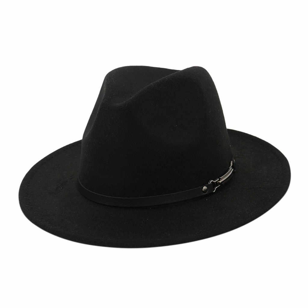 男性 & 女性ヴィンテージワイドつばの帽子とベルトバックル調節可能な Outbacks 帽子