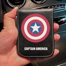 Оригинальный disney Капитан Америка marvel водительское удостоверение