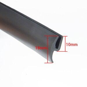 Image 5 - شريط مانع للتسرب مطاطي للزجاج الأمامي والخلفي ، 1 8 م ، شريط مانع للتسرب مضاد للغبار للوحة القيادة في السيارة
