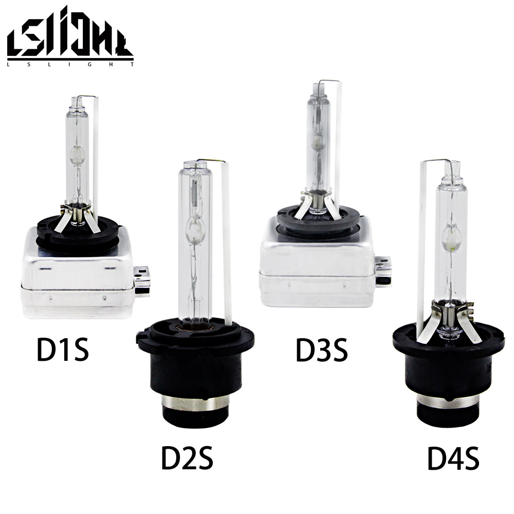 TSlight Free Shipping <font><b>D1S</b></font> D2S D3S D4S Car <font><b>Xenon</b></font> Bulb 12V 35W Super Brightness Longer Life Headlights 3000K 4300K <font><b>6000K</b></font> 8000K image