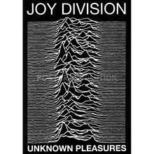 Unknown pleasures by joy division (1979) arte de seda imprime arte da parede para sala de estar decoração do quarto