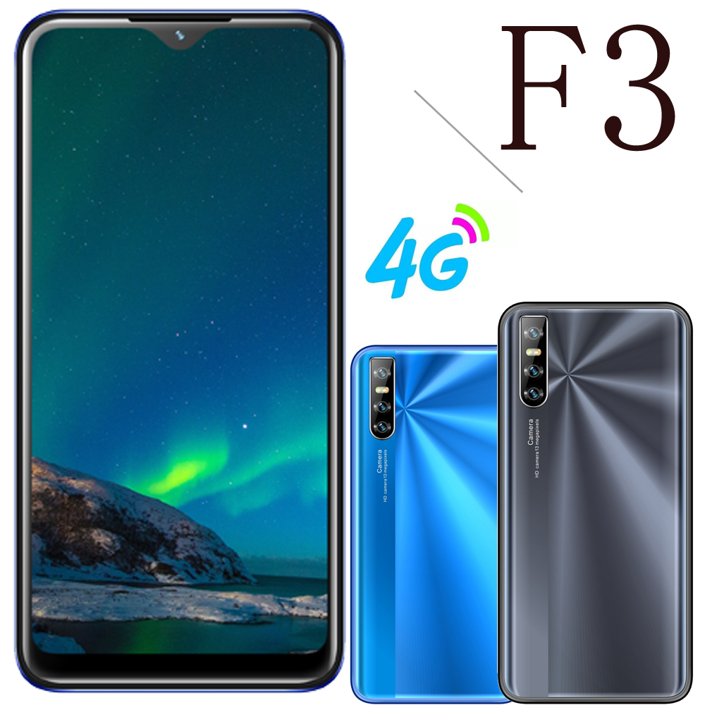 F3 3G RAM 16GROM smartphone Cheap Android Mobile Phones celular 6.26inch dual sim 4G LTE unlocked moviles baratos libre android