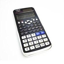 10 디지털 과학 계산기 552 기능 통계 수학 2 라인 디스플레이 991EX 학생 학교 학부