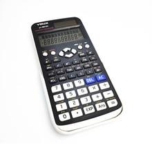 Calculatrice scientifique numérique 991EX à 2 lignes, 10 fonctions, statistiques, mathématiques, pour étudiants, université