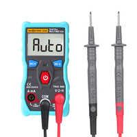 Automatic Digital Multimeter Auto Range Backlight True-RMS NCV 4000 Counts AC/DC Voltage Current Ohm Test Tool Smart RM403B