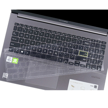 Keyboard-Covers Laptop Asus Vivobook Skin-Protector Silicone for TPU Clear 15-S533 S5600