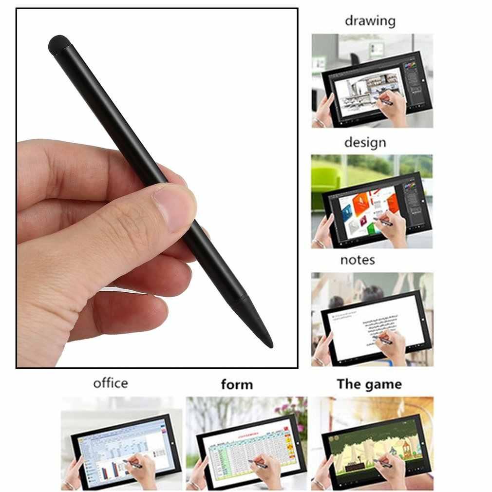 1 قطعة مقاوم الصلب تلميح ستايلس القلم للمقاومة شاشة تعمل باللمس لعبة لاعب ل تابلت عالمي هاتف ذكي