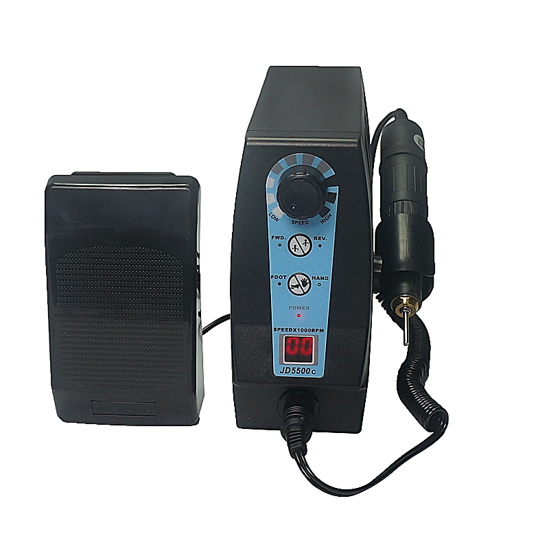 JD5500C Polisher RPM 120 Watt Jsda Electric Nail Drill Pedicure Manicure Milling Machine 220V