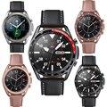 Металлическая рамка для Samsung Galaxy Watch 3 41 мм 45 мм, защитное кольцо, клейкий чехол-бампер для Galaxy Watch 3, аксессуары