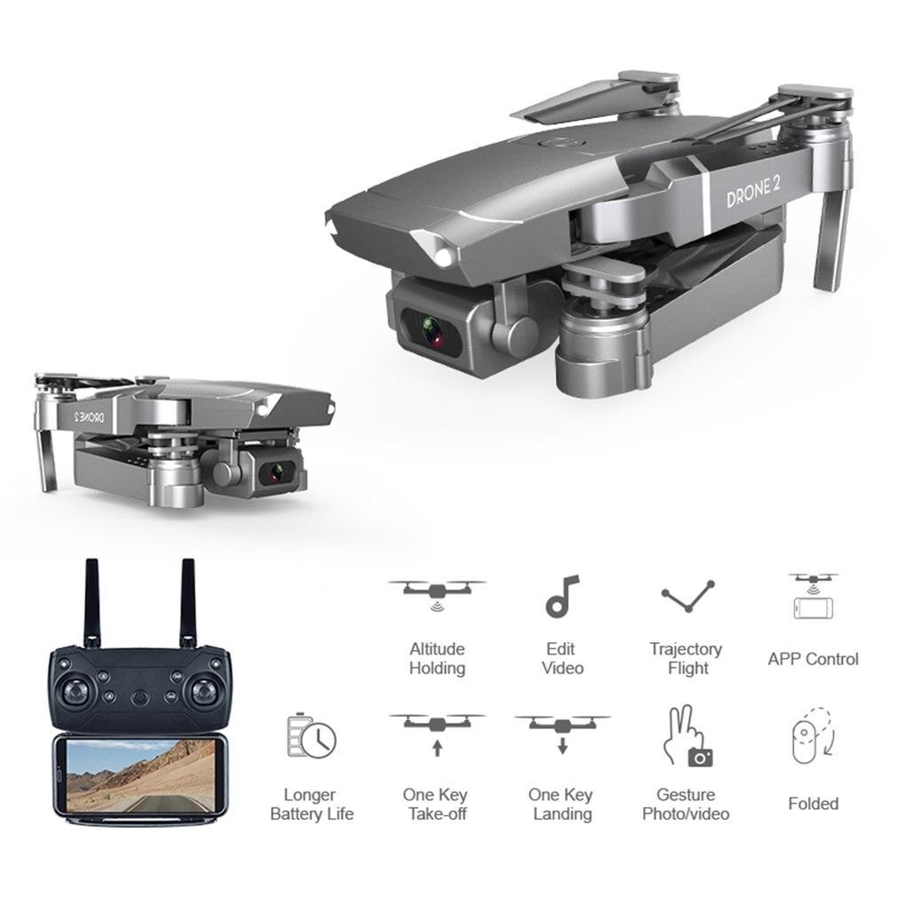 Dron wi-fi 4k kamera szeroki kąt 1080P 720P HD podwójny aparat anteny wideo optyczne pozycjonowanie przepływu pilot zdalnego sterowania