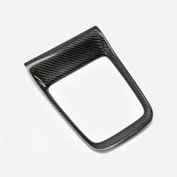 Carbon Fiber OEM Gear Surround RHD Glossy Fibre Interior Shift Cover Trim Car Accessories For Impreza 2014 2018 WRX VAB VAG CVT