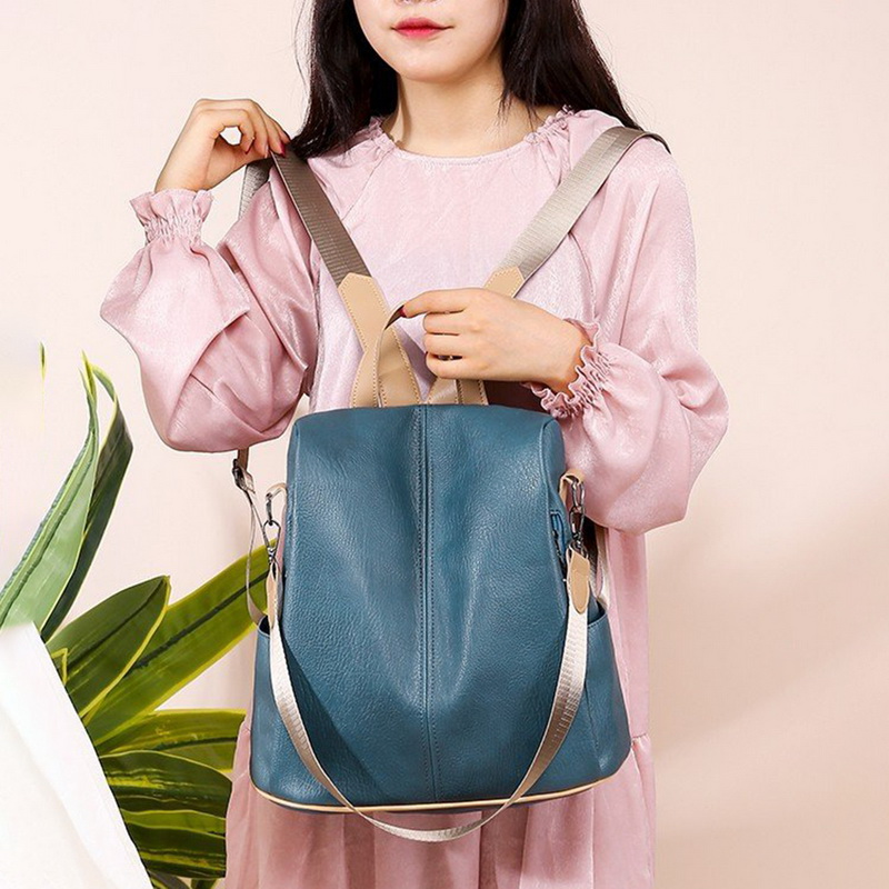 H02e9dd1372d147dda14a7691fa9fb77aR - Fashion Women Waterproof Travel Backpack Anti-theft Oxford Backpack Female School Bags Bagpack For Girls Shoulder Bag