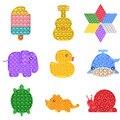 Игрушка-игрушка с пухлом-пузырьком, которая помогает снять стресс и Увеличить Фокус, мягкая игрушка для сжатия