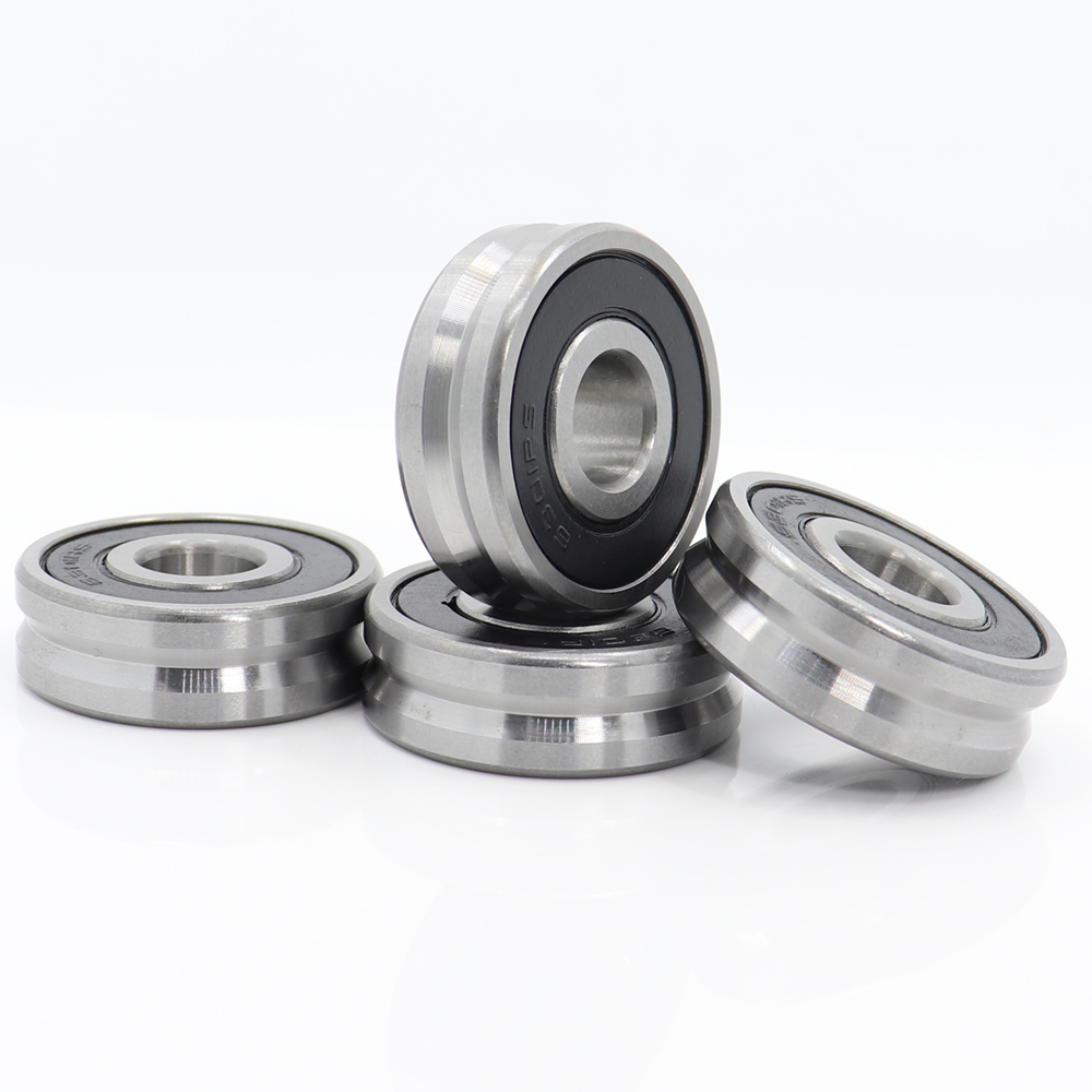 V123712 ( 4PCS ) V Groove Sealed Ball Bearing 12*37*12 Mm Pulley Wheel Bearings V4/1 Guide Track Rlooer Bearing