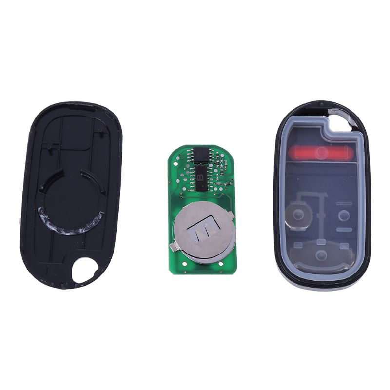 2+1Buttons <font><b>Keyless</b></font> Entry <font><b>Remote</b></font> key For <font><b>Honda</b></font> NHVWB1U521 433Mhz For <font><b>Honda</b></font> Civic 2001 2002 2003 2004 2005 NHVWB1U523 image