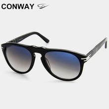 كونواي نظارات الموضة للنساء الرجال المتضخم نظارات شمسية مكافحة وهج القيادة نظارات خلات الإطار إيطاليا نمط CN0001