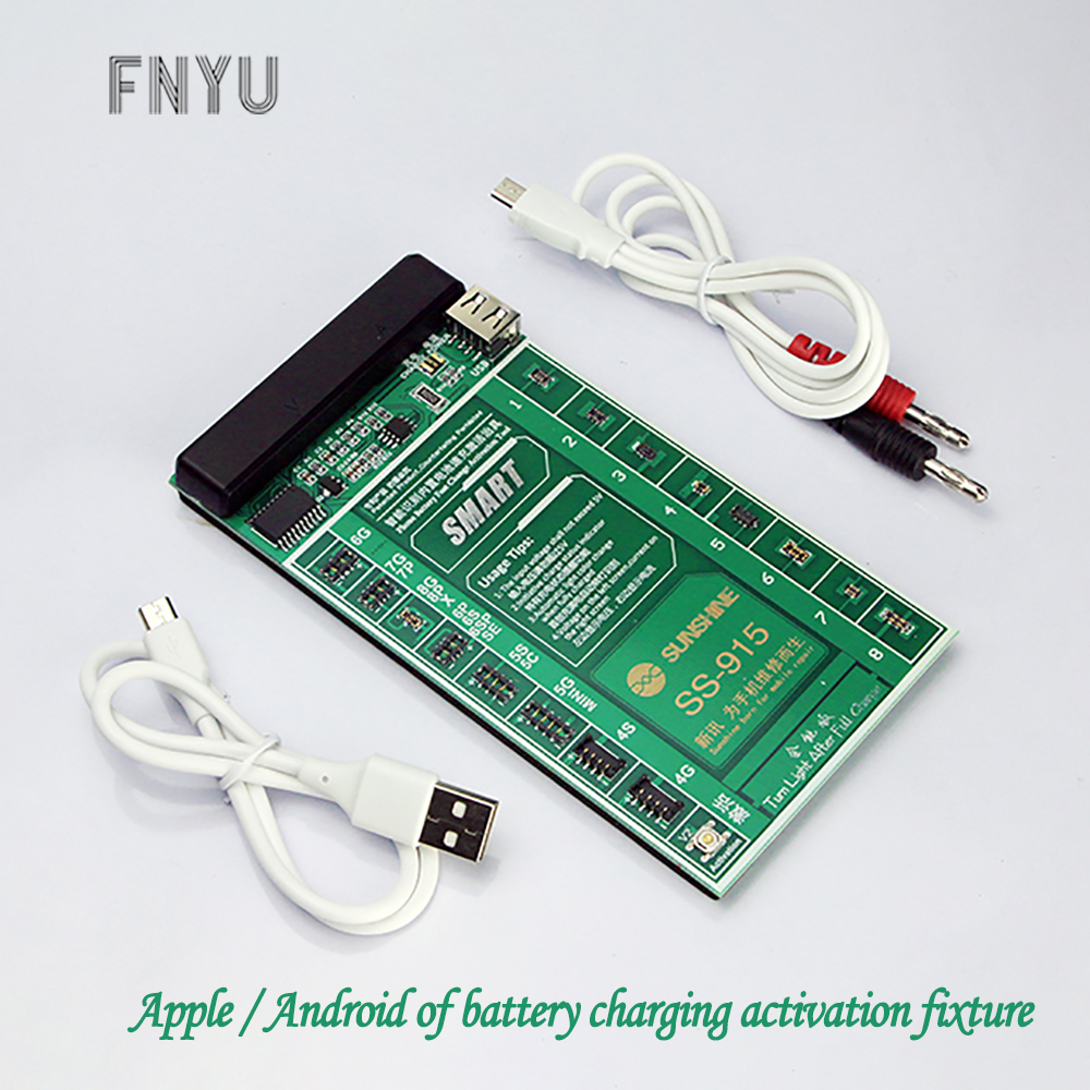 SS-915 Universal Battery Activation Board Quick Charging With USB Cable IPhone Samsung Android Cell Phone Battery Repair Tool