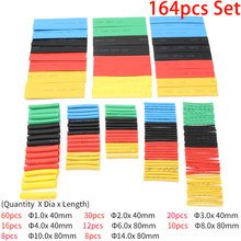 Tubing Wire-Cable Sleeving Heat-Shrink-Tube-Set Shrinking Polyolefin Insulated Hand-Tools-Kit