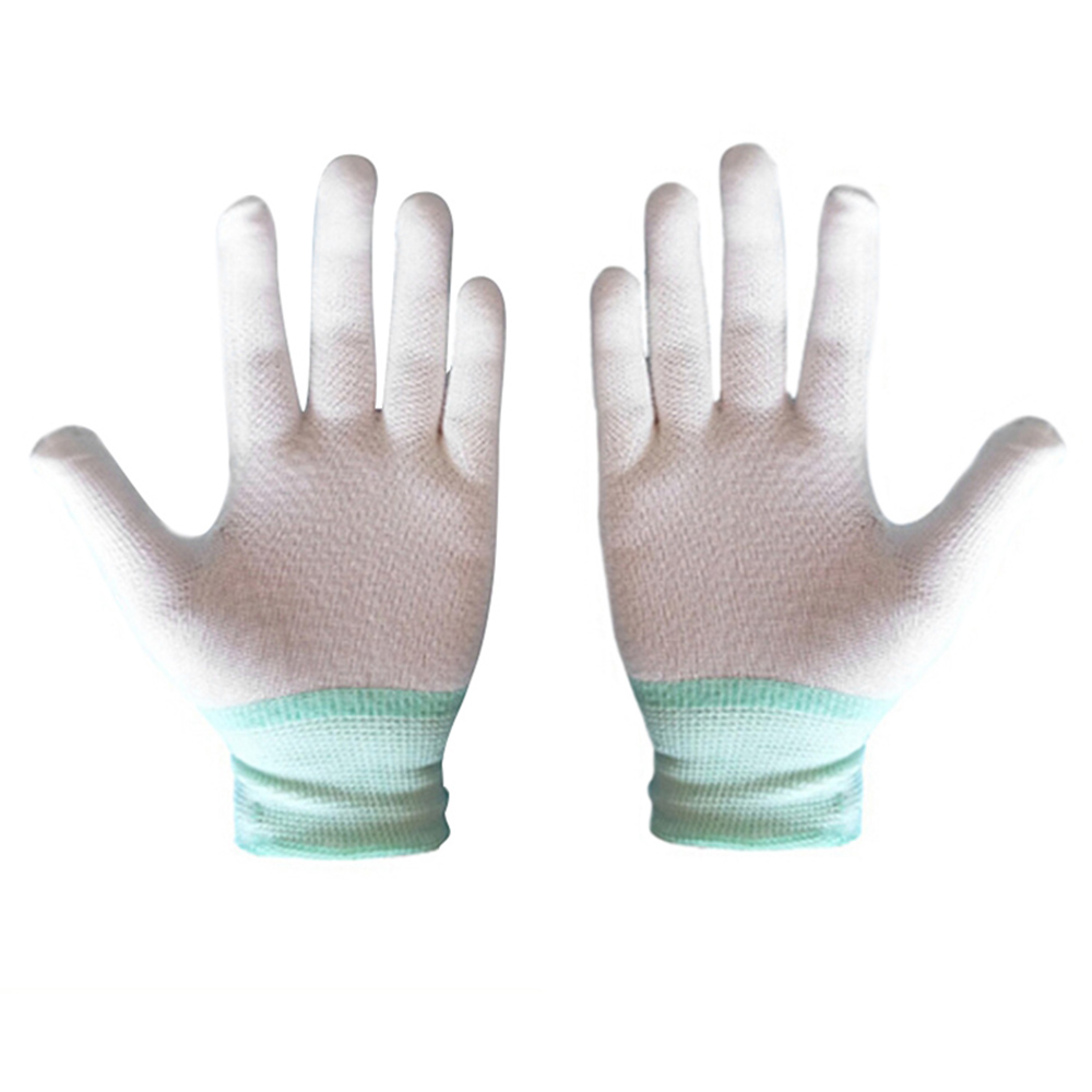 1pair Garden Gloves Anti Static Electronic Working Cut Resistant Glove Anti-dirty Finger Protection Antistatic Gloves