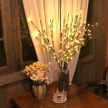 20 Light Tree Branch Light String Christmas Decorations for Home Christmas Tree Decorations New Year Decorations Natal Natale image