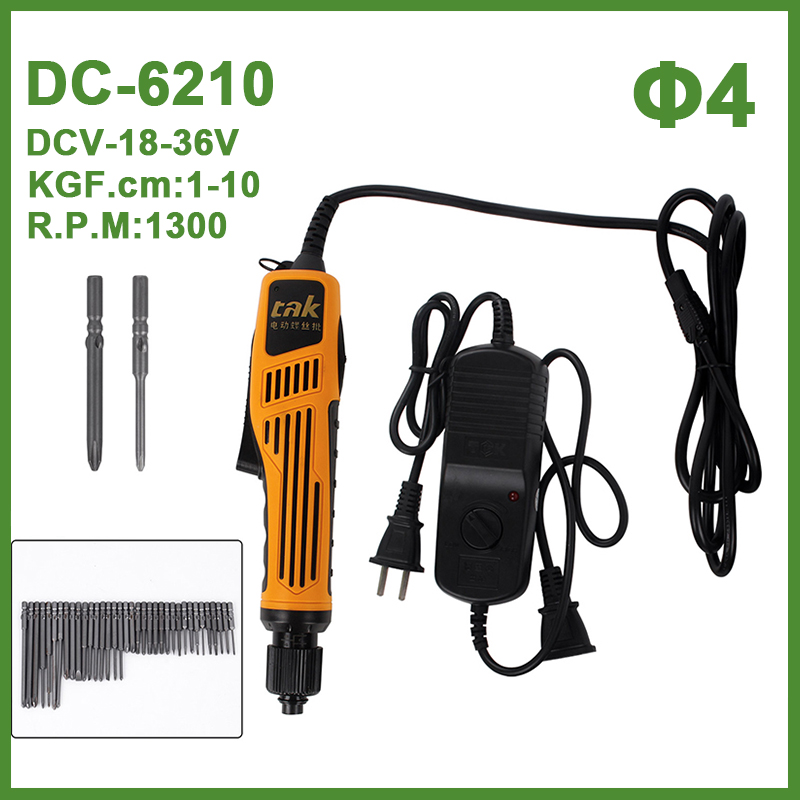 DC 18V-36V Hand Mini Electric Drill Motor Power Drill Electric Screwdriver Power Tools with 10PCS 21PCS 36PCS Bits DC6210 DIY