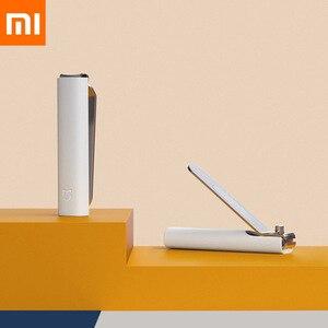 Image 1 - מקורי Xiaomi Mijia שכשוך הוכחת נייל קליפר Xio Mijia הגנה ניתזים נייל סכין 420 נירוסטה עבור יופי יד רגל נייל