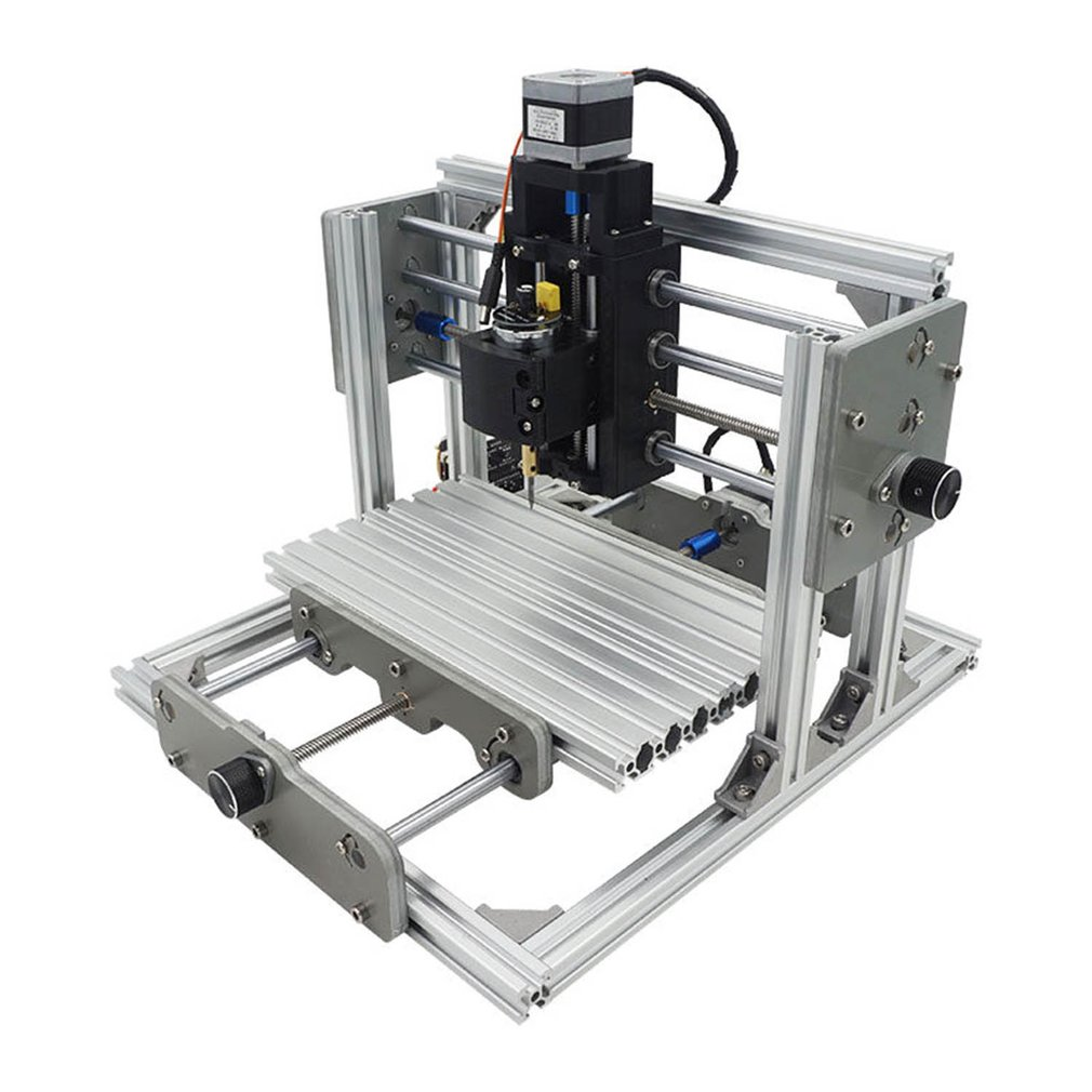 GRBL Control DIY CNC2417 Mill Router Kit Desktop Metal Engraver Mini PCB Milling Machine Engraving For Metal Wood
