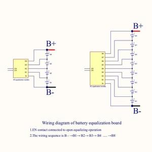 Image 5 - 1A 3A 5A 6A баланс Li Ion Lifepo4 LTO литиевая батарея активный эквалайзер параллельный балансировочный плата энергопередача BMS 3S 4S 5S 6S