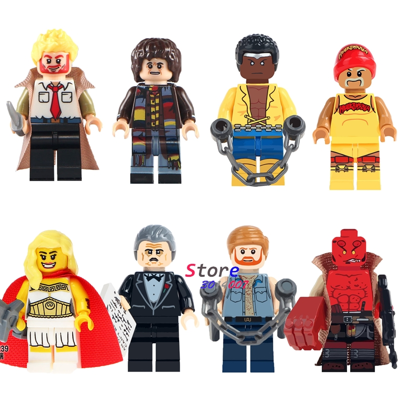 Single Classic Movie Constantine Doctor Who She-Ra HellBoy Building Blocks Models Bricks Toys For Children Kits