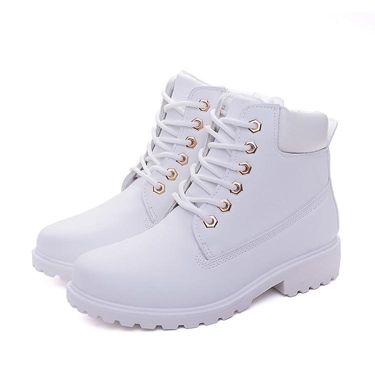Winter boots women shoes 2019 warm fur plush sneakers women snow boots women lace-up ankle boots winter shoes woman botas mujer (4)