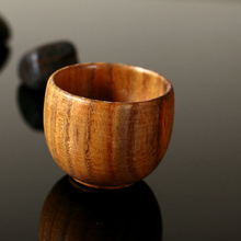 wooden cup vintage cup sushi wooden tea cup coffee cup solid wood milk cup cup