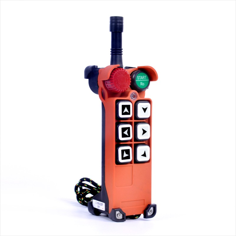 Image 4 - F21 E1 (1 Transmitter 1 Receiver) Industrial Wireless Radio 1  speed 6 Buttons Remote Controller for Hoist CraneRemote Controls   -