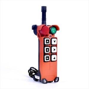 Image 4 - F21 E1 (1 transmisor + 1 receptor), Radio inalámbrica Industrial, 1 velocidad, 6 botones, mando a distancia para grúa de elevación