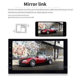 Essgoo Android универсальный автомобильный Радио Авторадио Авто Радио 2 Din Центральный Multimidia видео плеер Automotivo Gps навигация