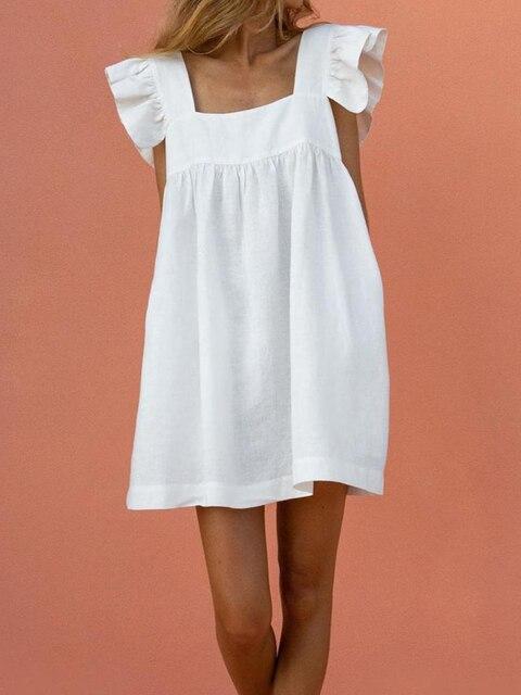 Фото женское короткое платье с квадратным вырезом вечернее вечерние цена