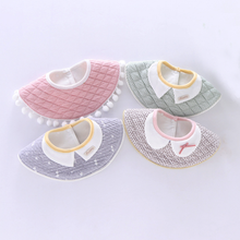 Baby Bibs newborn baby Nursing boys girls Feeding Bibs Burp Cloths Saliva kids stuff cute waterproof 360 WHT008(China)