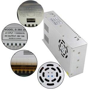 Image 5 - 最高品質 36V 10A 360 ワット用電源ドライバのスイッチング CCTV カメラ LED ストリップ AC 100 240 入力 DC 36V 送料無料