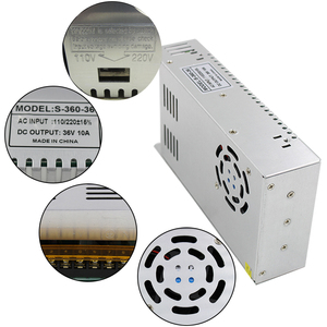 Image 5 - Best quality  36V 10A 360W Switching Power Supply Driver for CCTV camera  LED Strip AC 100 240V Input to DC 36V free shipping