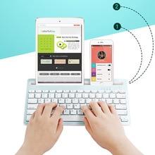 78 Keys Ultra Slim Bluetooth 3.0 Wireless Mini Keyboard with Stand Holder for Tablet ipad iphone 11 8 SE2 XS Desktop Laptop PC