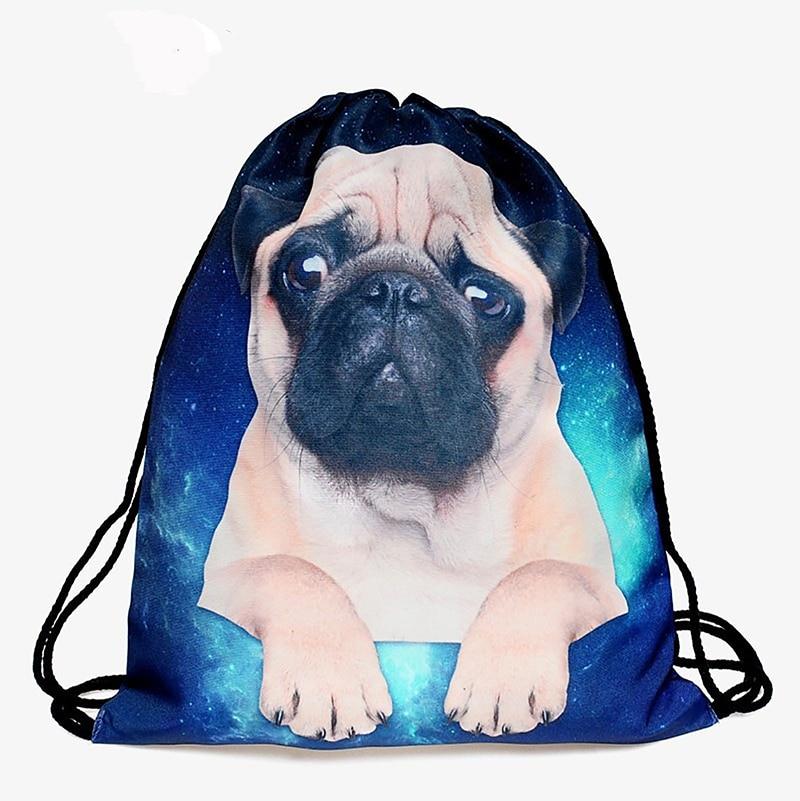 Pocke Trope Women Backpack Cosmetic 3D Printing Travel Softback Women Drawstring Bag Mens Backpacks Bags Bundle Fashion Shouder