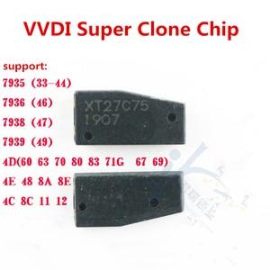 Image 4 - 10 adet/grup Xhorse VVDI süper klon çip XT27A01 XT27A66 için ID46/40/43/4D/8C/8A/T3/47 VVDI2 anahtar aracı VVDI Mini anahtar aracı