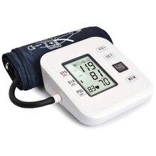 Pressão arterial do tensor do esfigmomanômetro do braço do medidor de pressão arterial do medidor de pressão arterial do medidor de bp digital automático médico