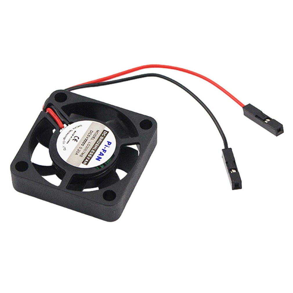 New Raspberry Pi 4 B CPU Fan Adjustable 5V 3.3V Cooling Fan For Raspberry Pi 4 Model B / 3B+ /3B  For Retroflag NESPi CASE+