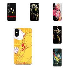For Galaxy Alpha Note 10 Pro A10 A20 A20E A30 A40 A50 A60 A70 A80 A90 M10 M20 M30 M40 Pattern Hard Phone Case Anime One Punch(China)