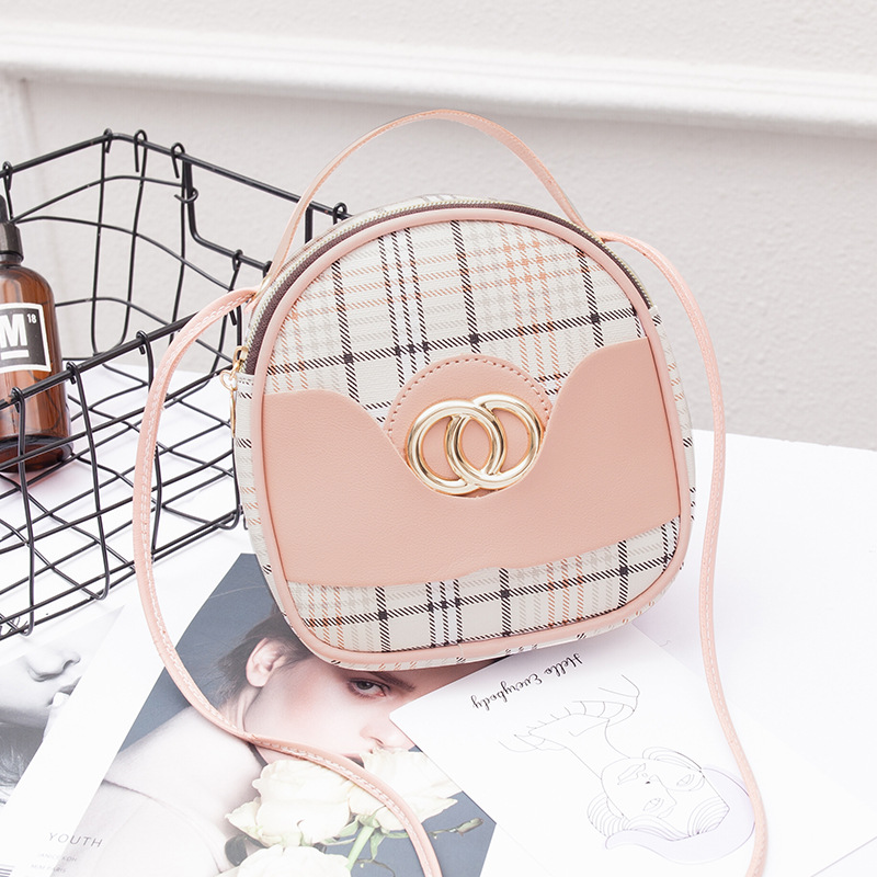 2020 New Creative Contrast Wild Woman Small Backpack Trend Leisure Mobile Phone Bag Sweet Lady Backpack Mini Square Bag